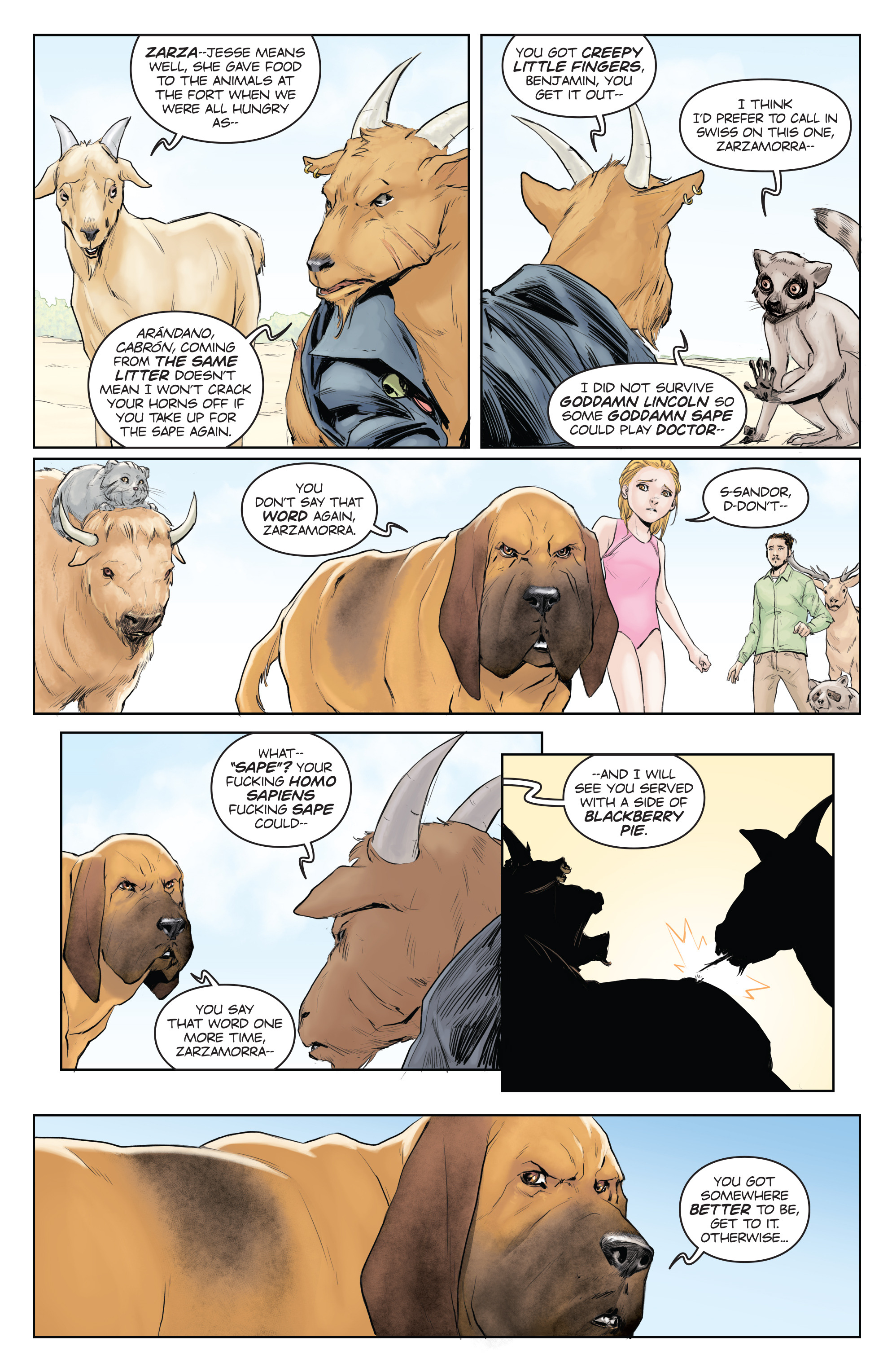 Read online Animosity comic -  Issue #5 - 8