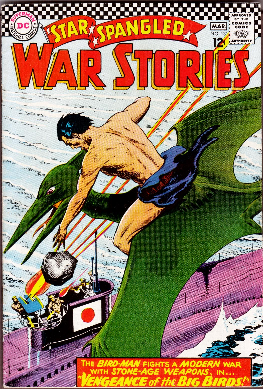 Star Spangled War Stories (1952) issue 131 - Page 1