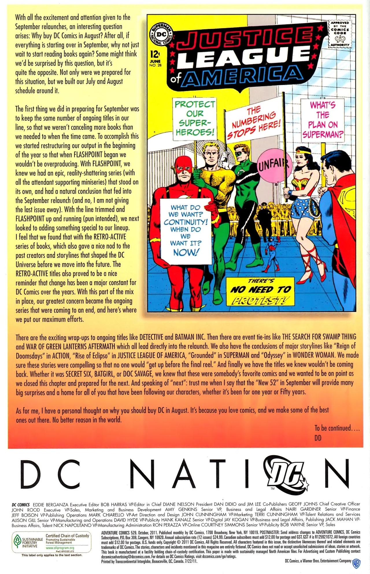 Read online Adventure Comics (1938) comic -  Issue #529 - 23