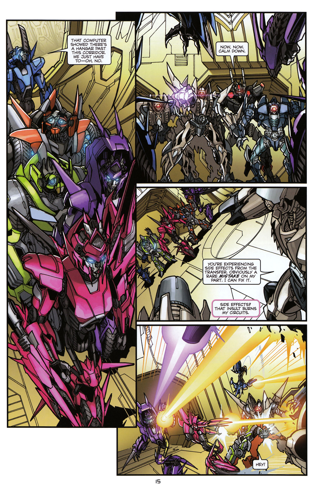 Read online Transformers: Tales of The Fallen comic -  Issue #6 - 17