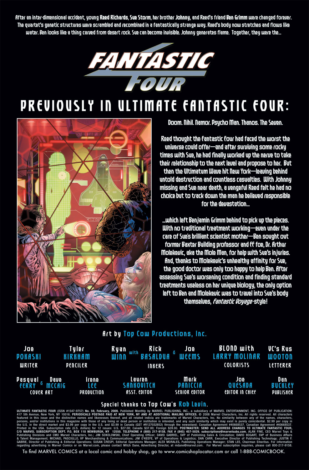Read online Ultimate Fantastic Four (2004) comic -  Issue #59 - 2