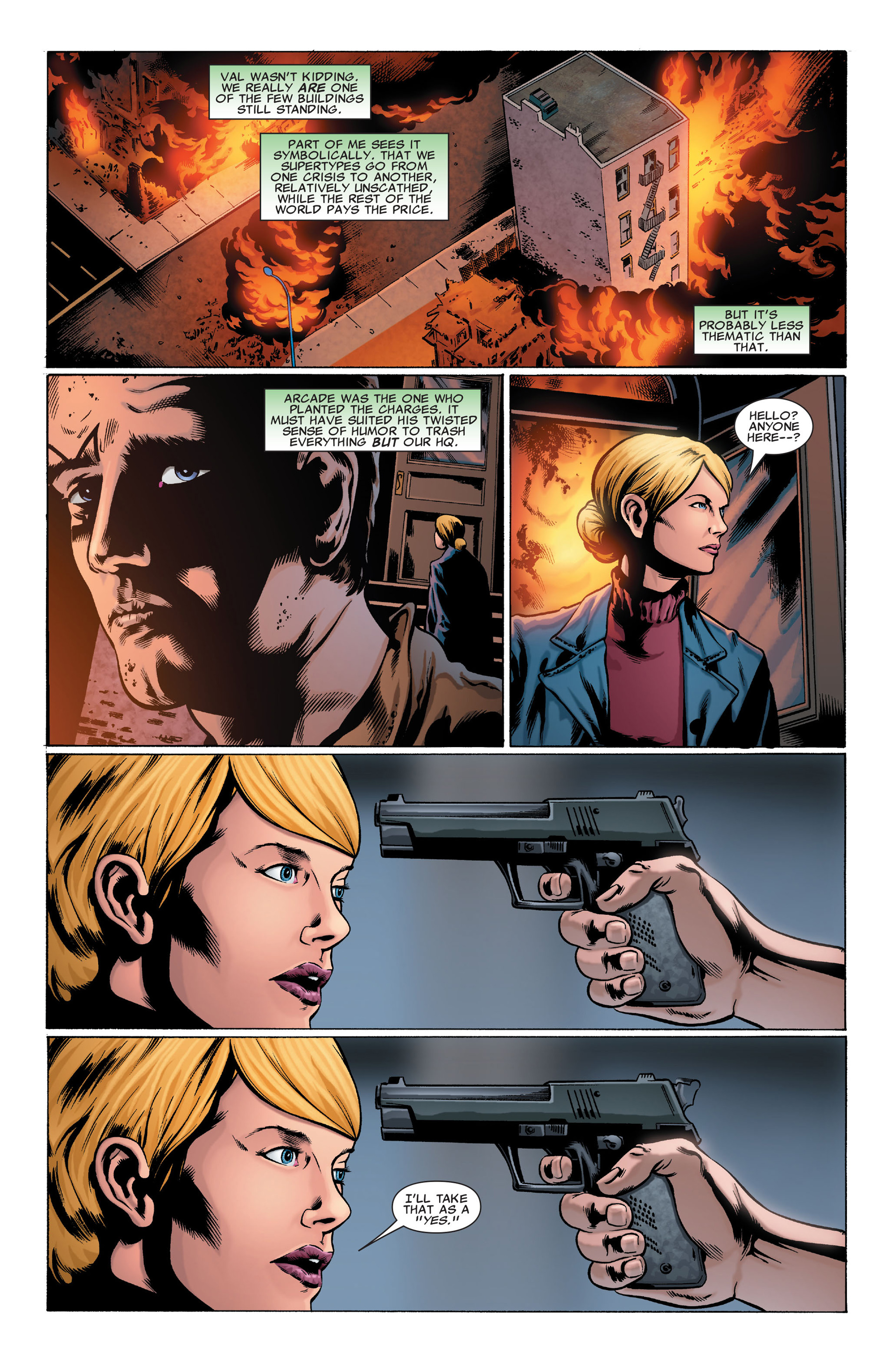 Read online X-Factor (2006) comic -  Issue #32 - 9
