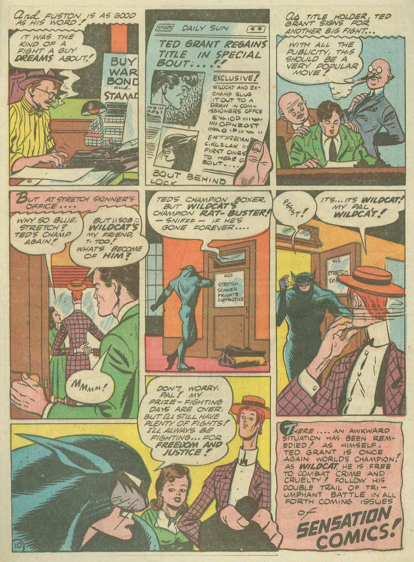Read online Sensation (Mystery) Comics comic -  Issue #14 - 65