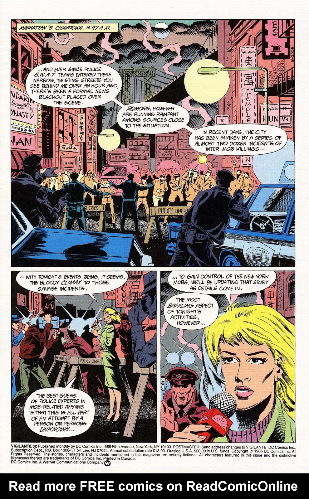 Vigilante (1983) issue 32 - Page 3