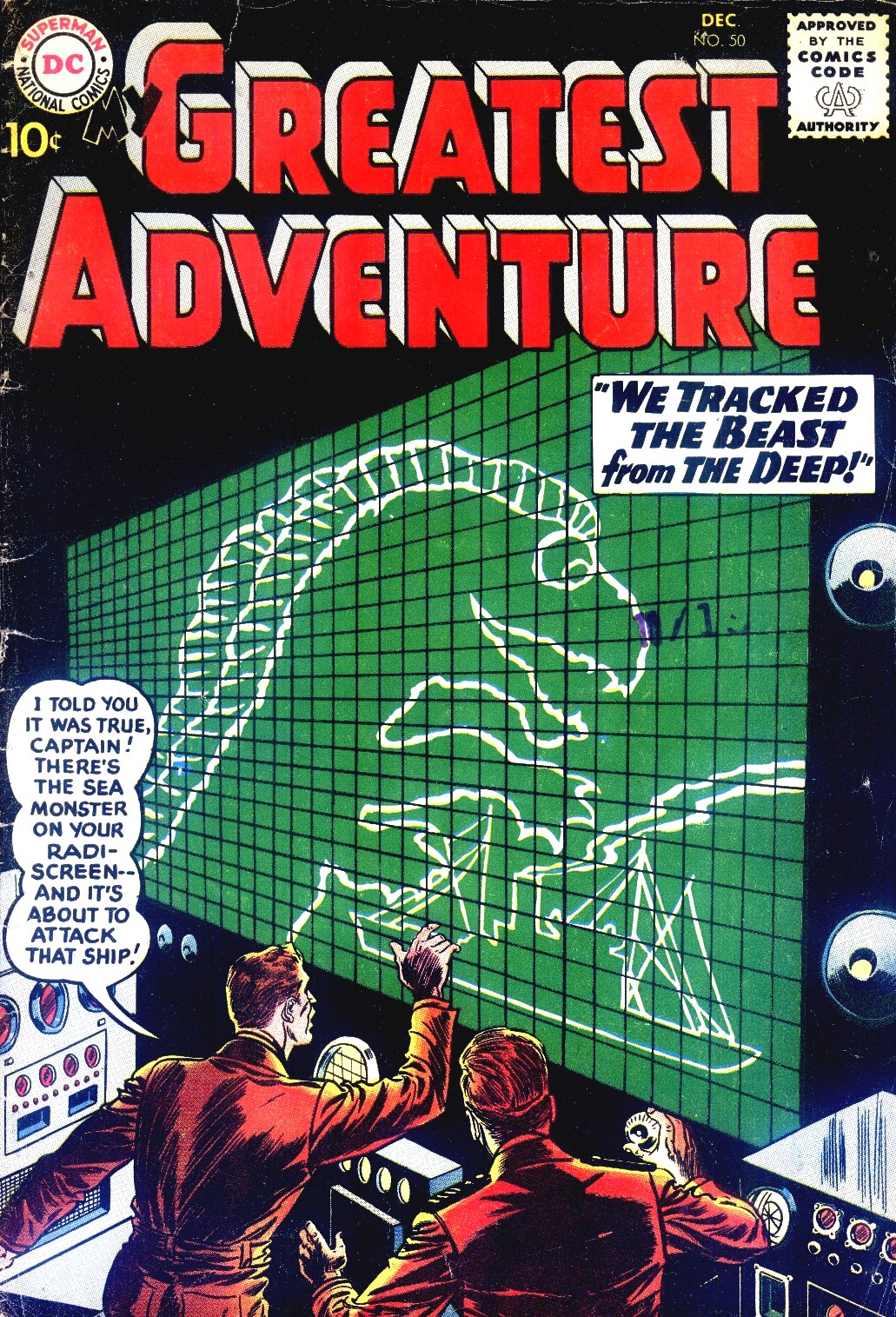 My Greatest Adventure (1955) 50 Page 1