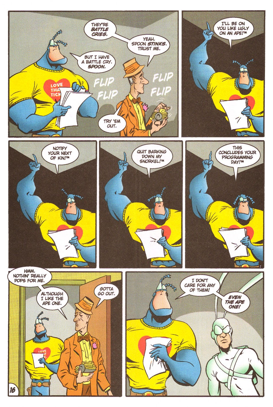 Read online The Tick: Days of Drama comic -  Issue #5 - 18