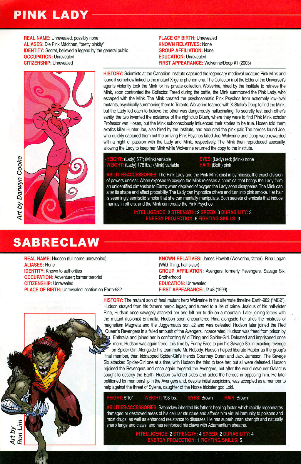 Read online All-New Official Handbook of the Marvel Universe A to Z: Update comic -  Issue #3 - 66