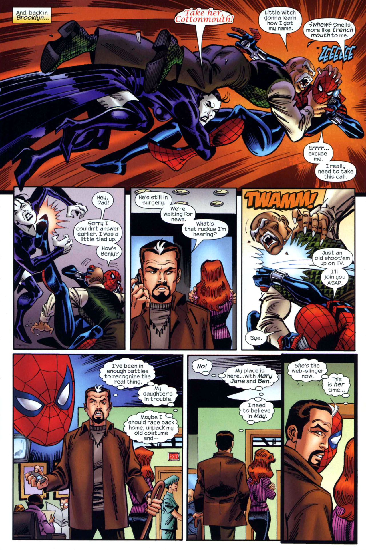 Read online Amazing Spider-Girl comic -  Issue #18 - 12