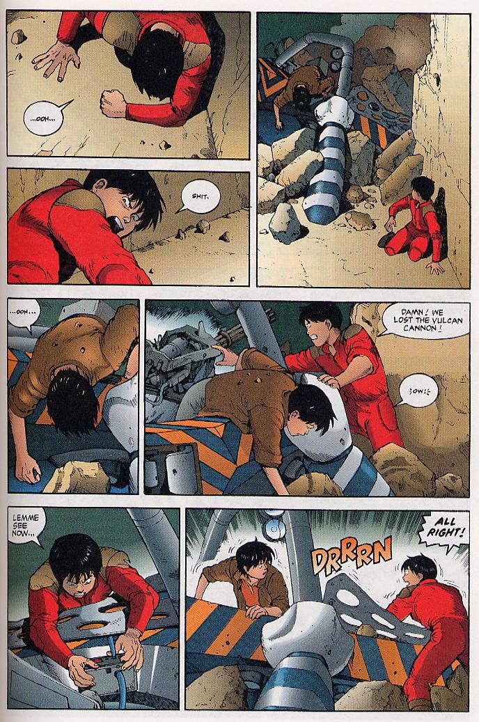 Read online Akira comic -  Issue #31 - 56