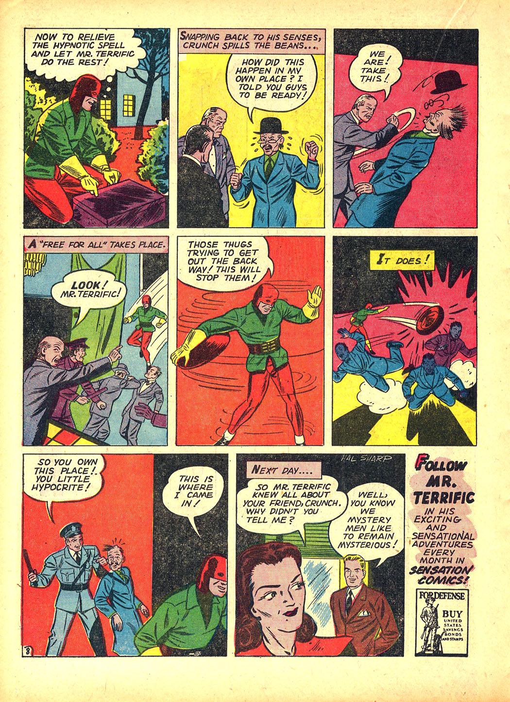 Read online Sensation (Mystery) Comics comic -  Issue #5 - 32
