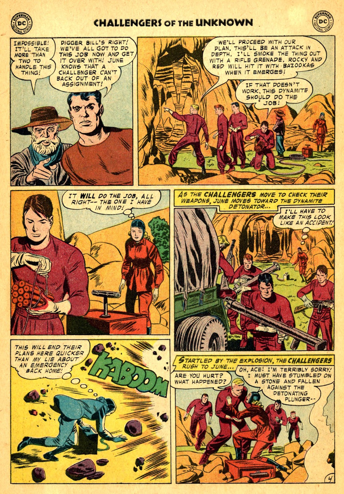 Challengers of the Unknown (1958) issue 2 - Page 6