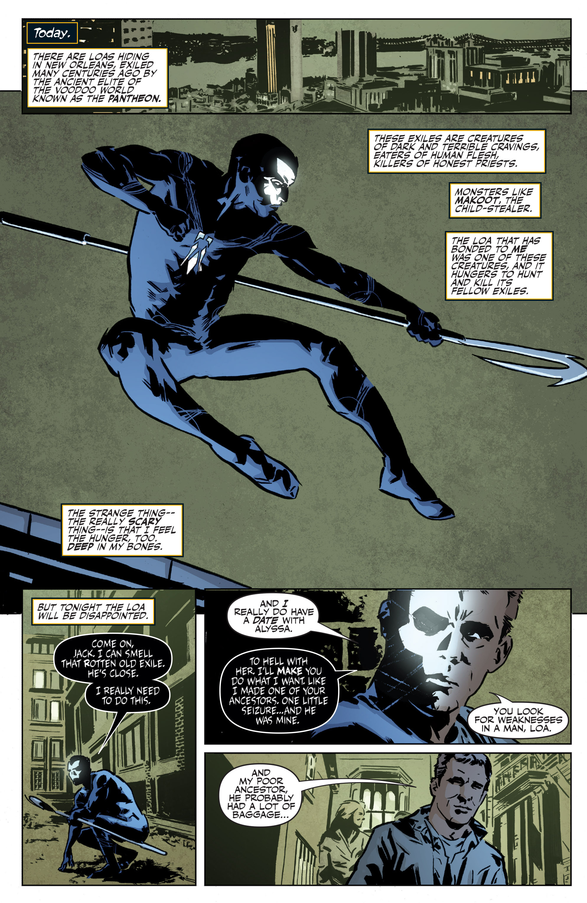 Read online Shadowman: End Times comic -  Issue #1 - 6