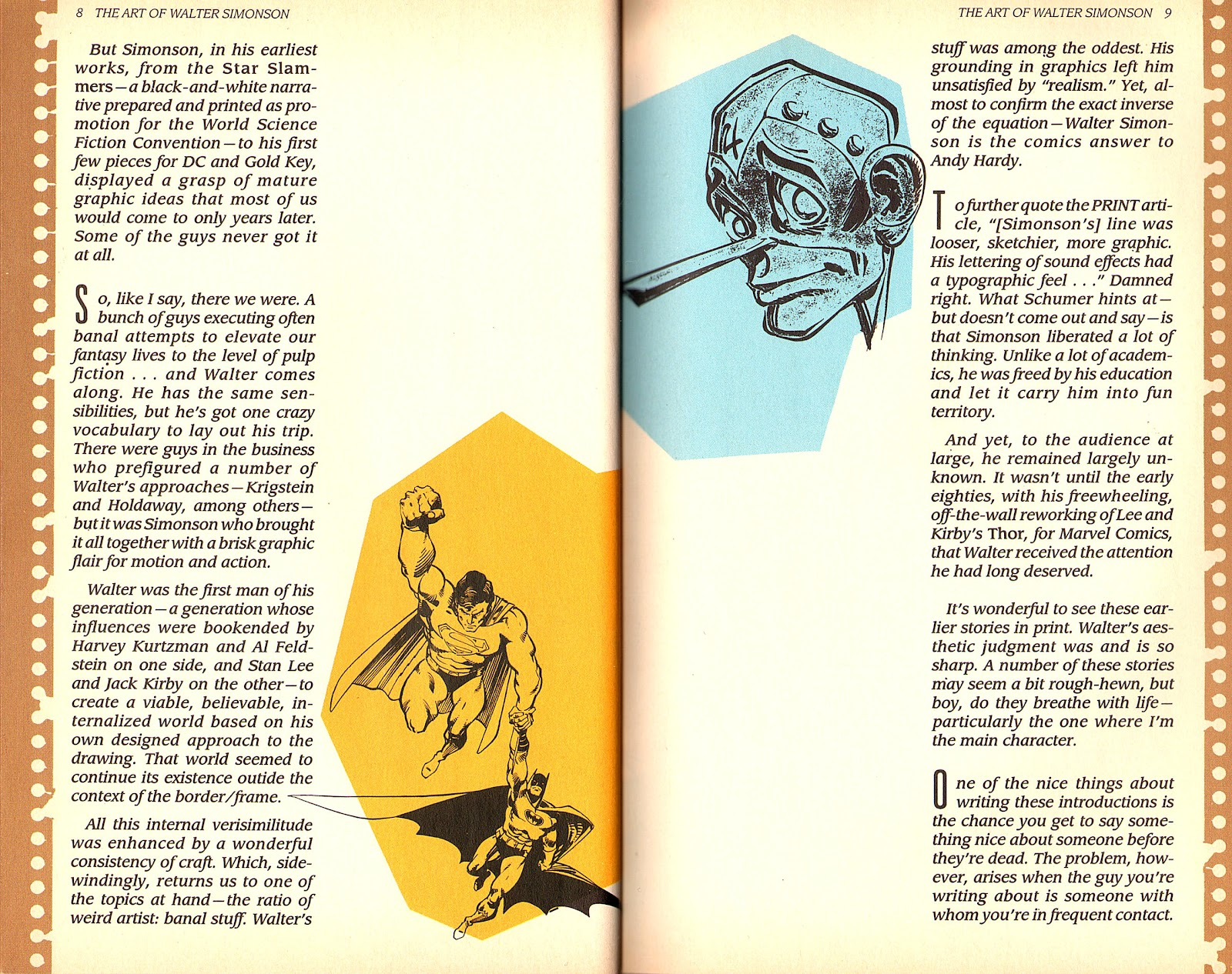 Read online The Art of Walter Simonson comic -  Issue # TPB - 6