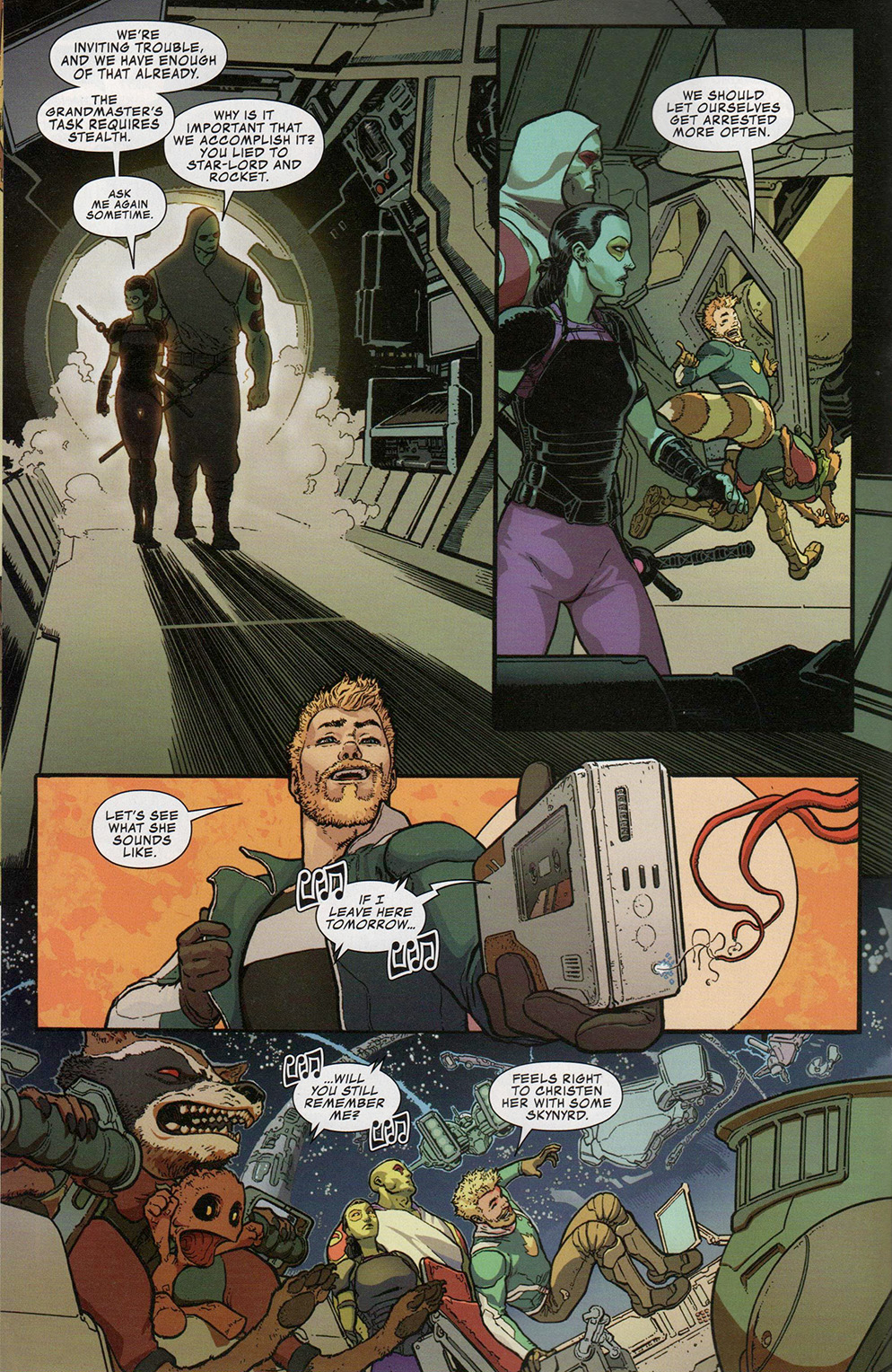 Read online Free Comic Book Day 2017 comic -  Issue # All-New Guardians of the Galaxy - 9