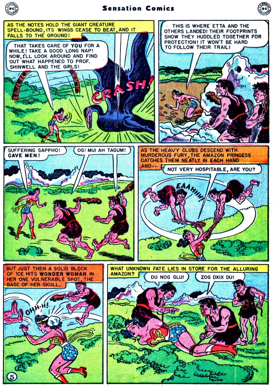 Read online Sensation (Mystery) Comics comic -  Issue #91 - 7