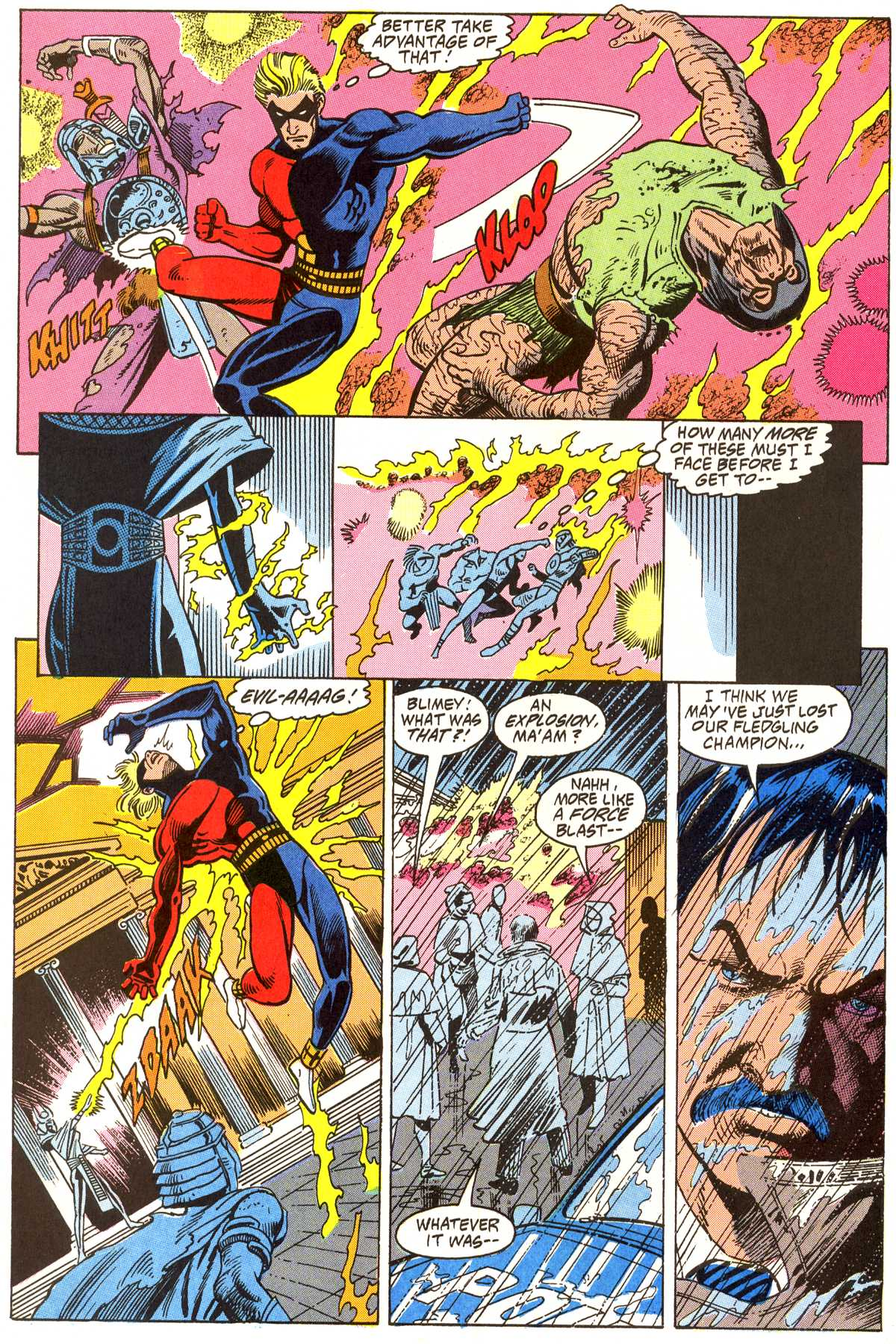 Read online Peter Cannon--Thunderbolt (1992) comic -  Issue #3 - 21
