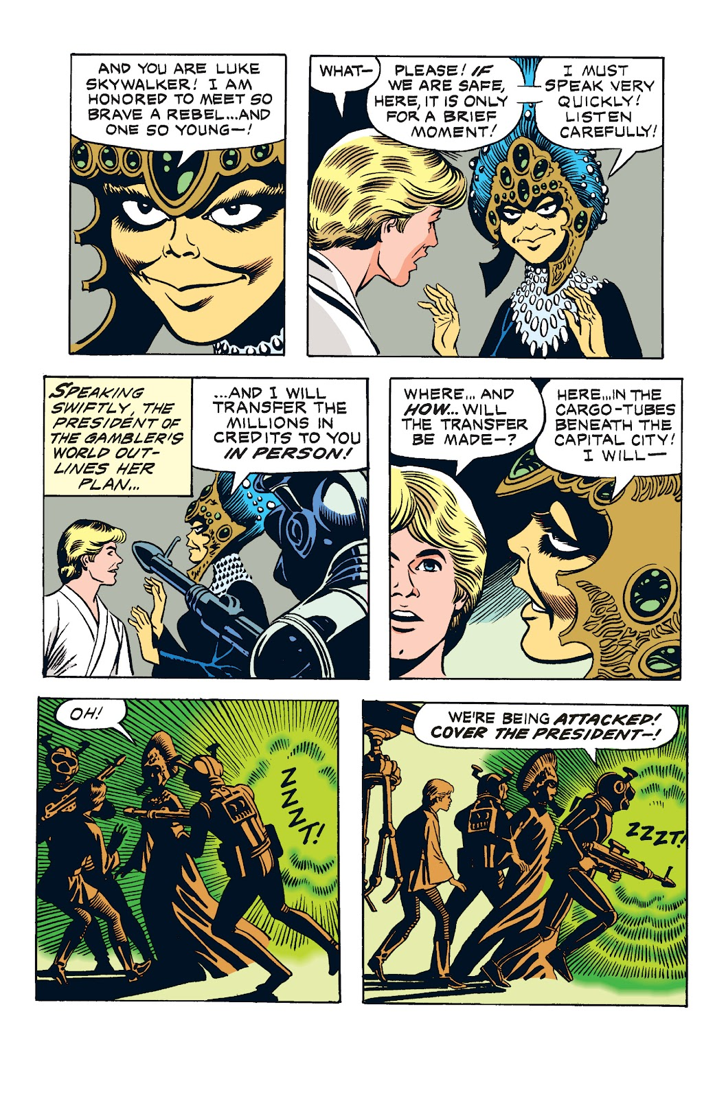 Read online Star Wars Legends: The Newspaper Strips - Epic Collection comic -  Issue # TPB (Part 2) - 4