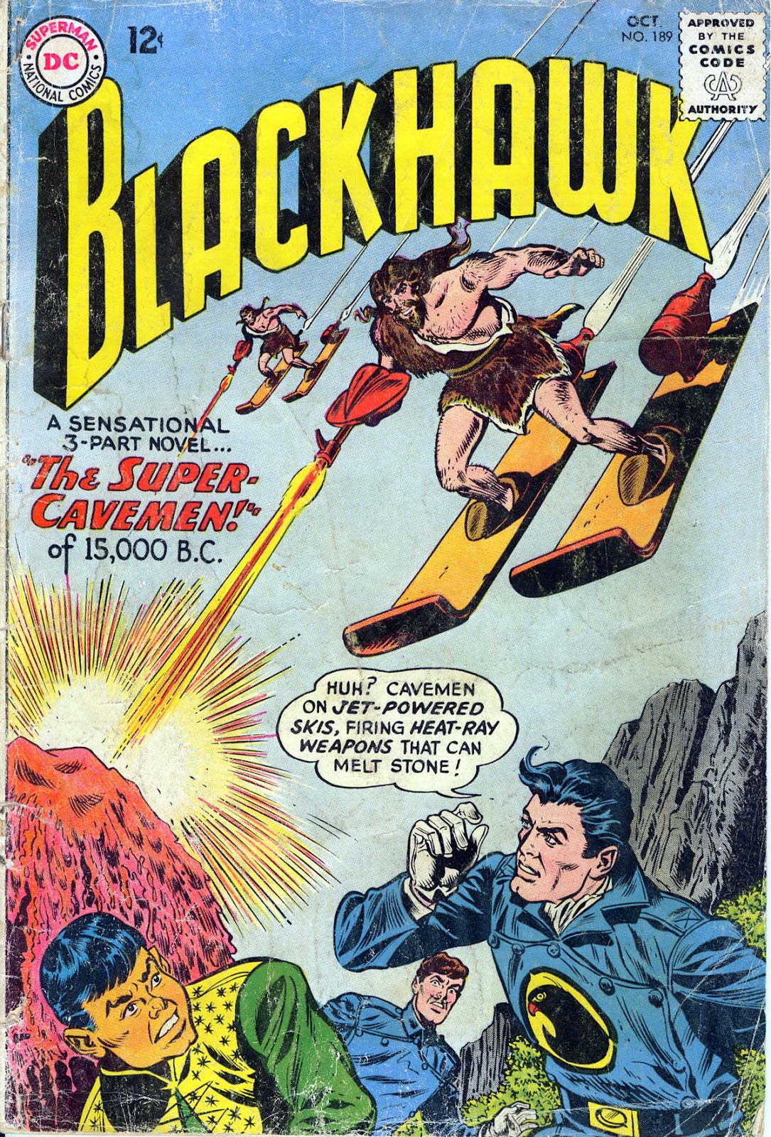 Blackhawk (1957) Issue #189 #82 - English 1