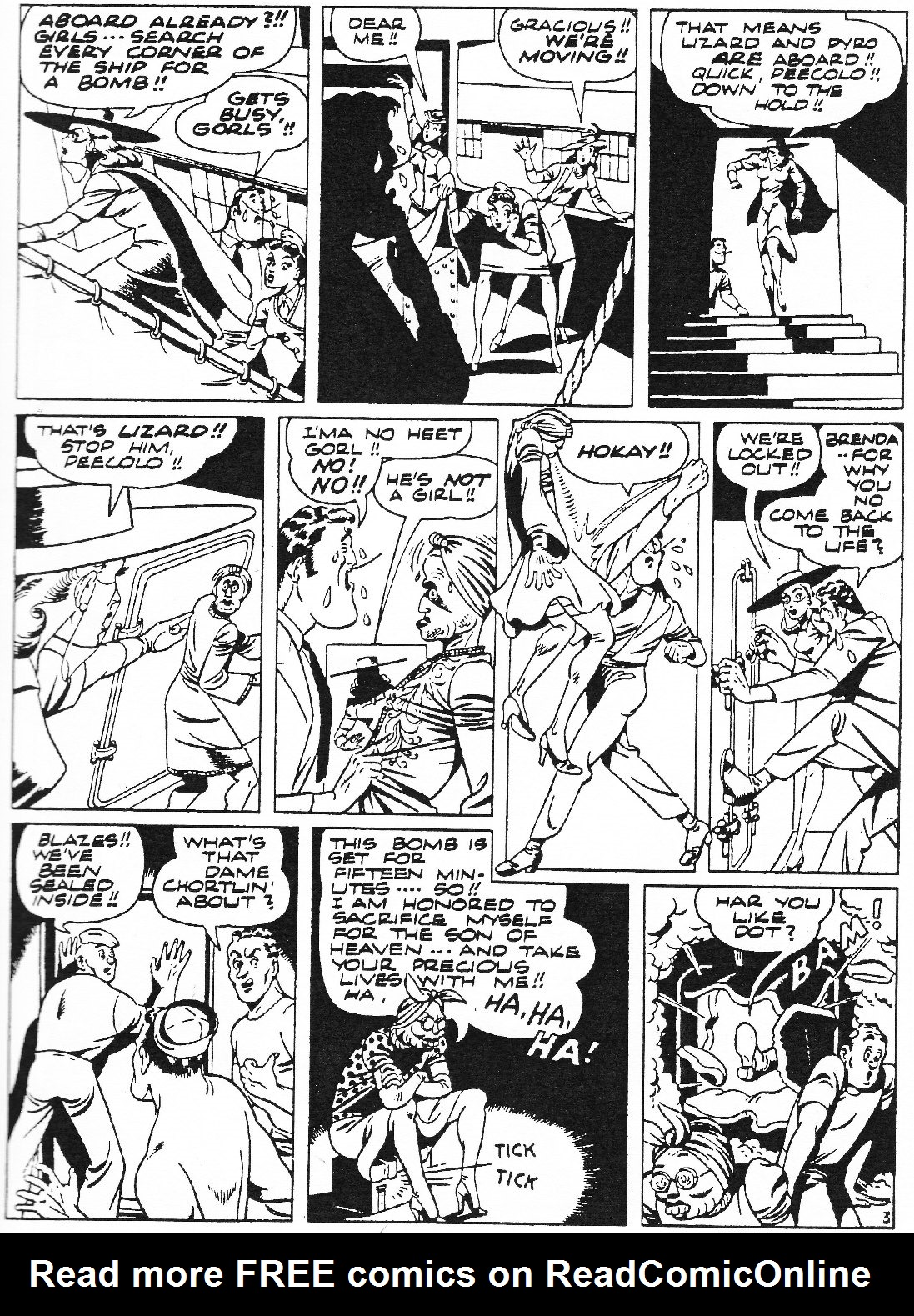 Read online Men of Mystery Comics comic -  Issue #73 - 47