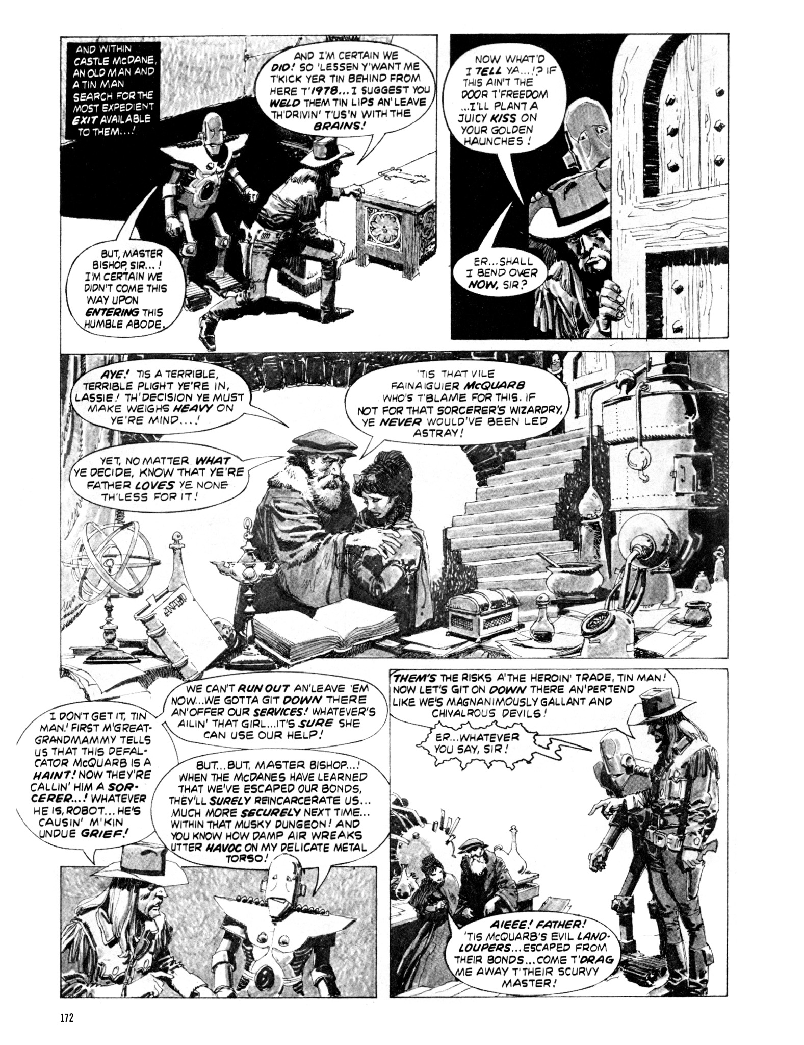 Read online Eerie Archives comic -  Issue # TPB 20 - 172