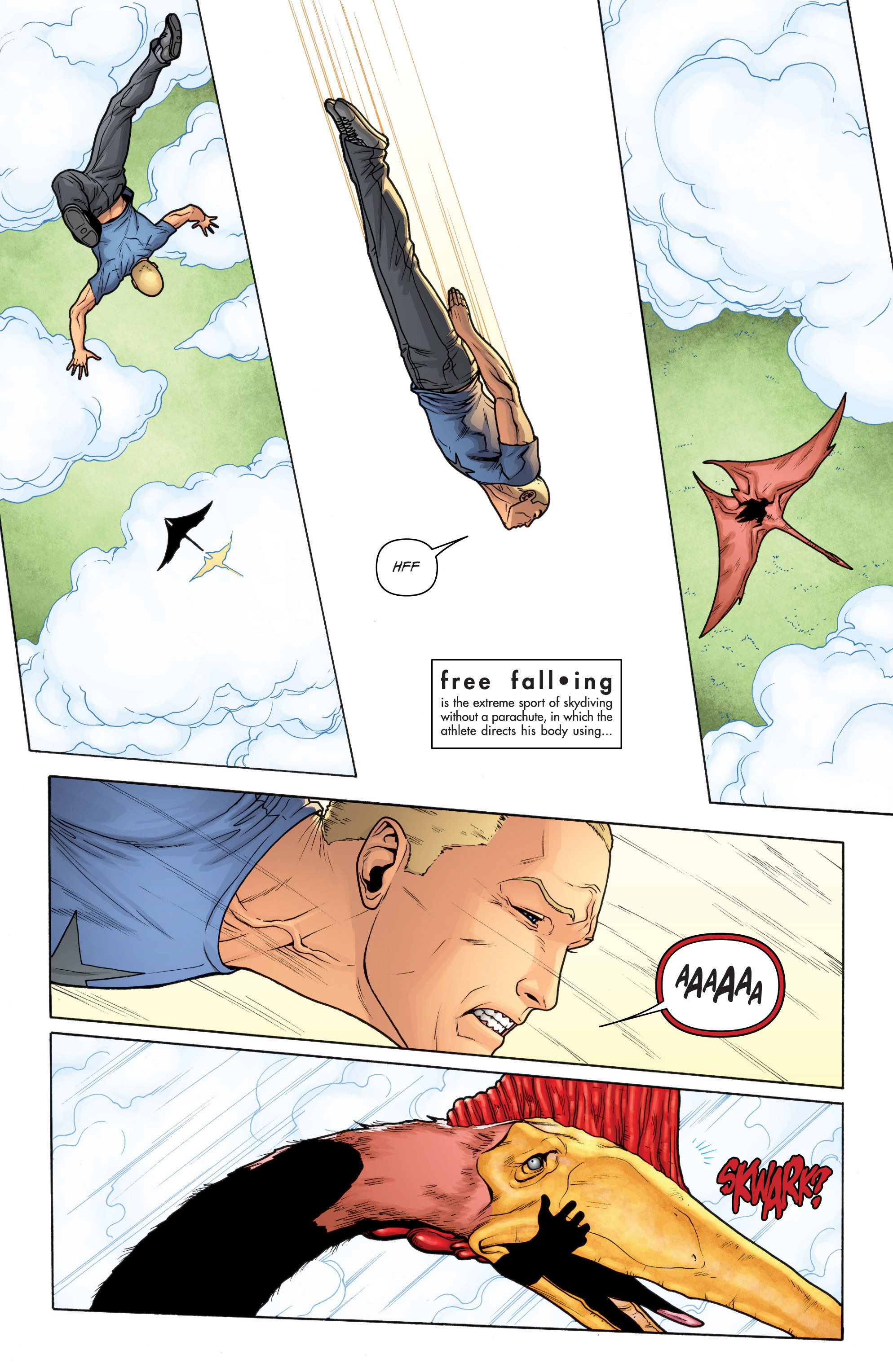 Read online Archer and Armstrong comic -  Issue #11 - 17