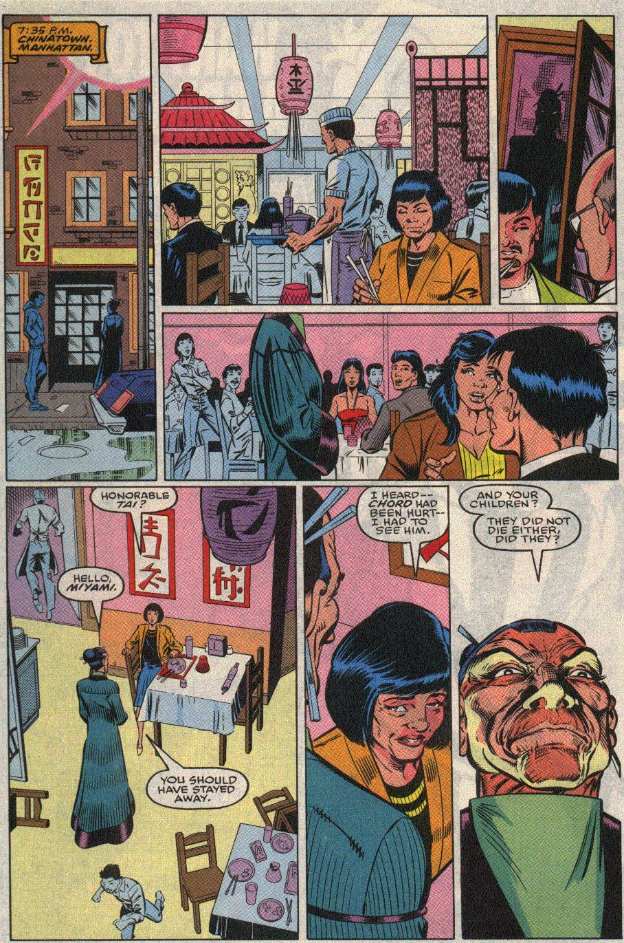 The New Warriors Issue #20 #24 - English 6