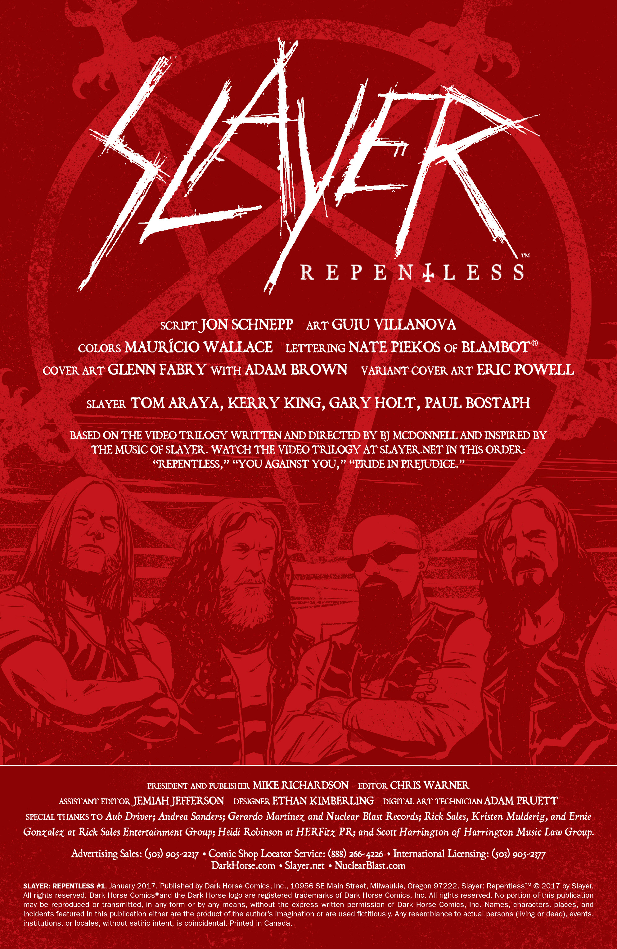 Read online Slayer: Repentless comic -  Issue #1 - 3