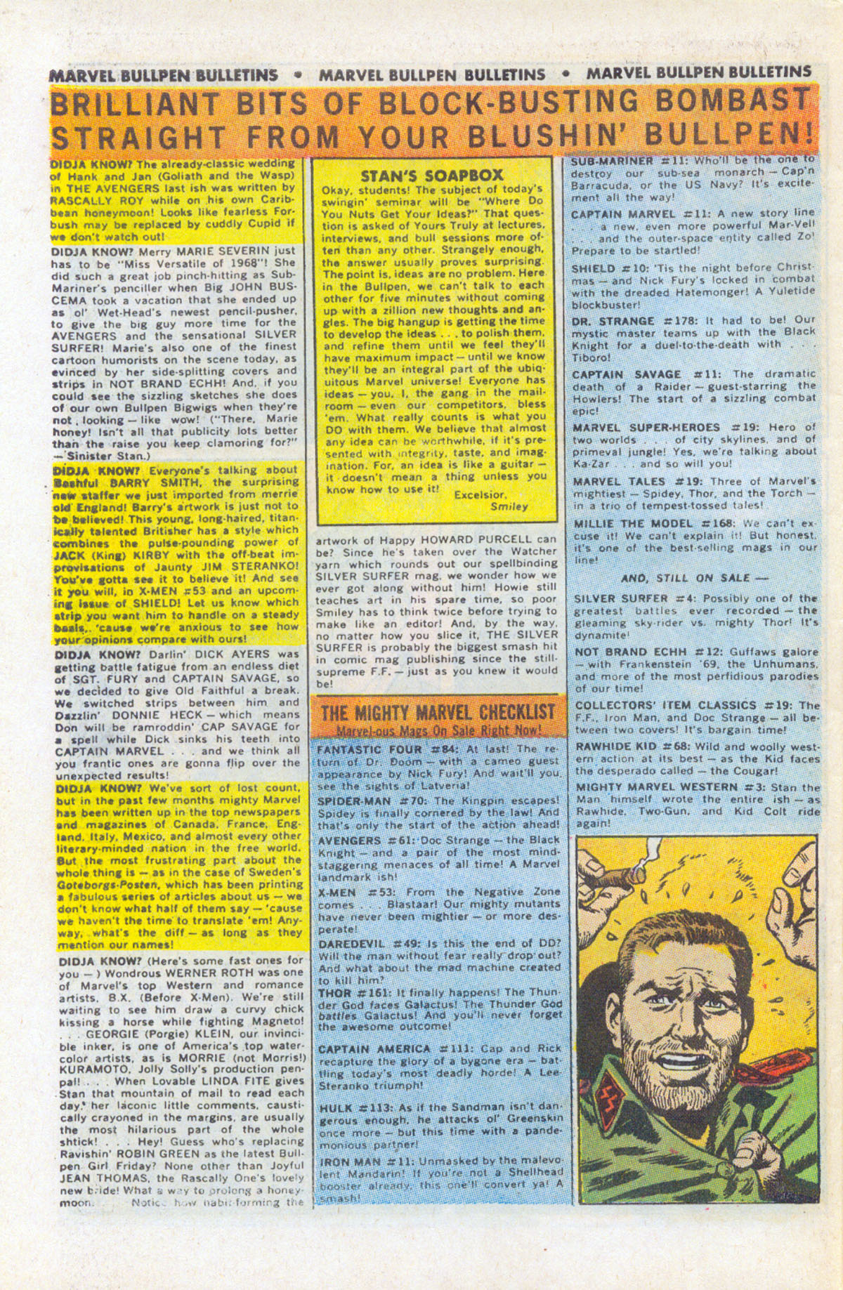 Read online Sgt. Fury comic -  Issue #63 - 30