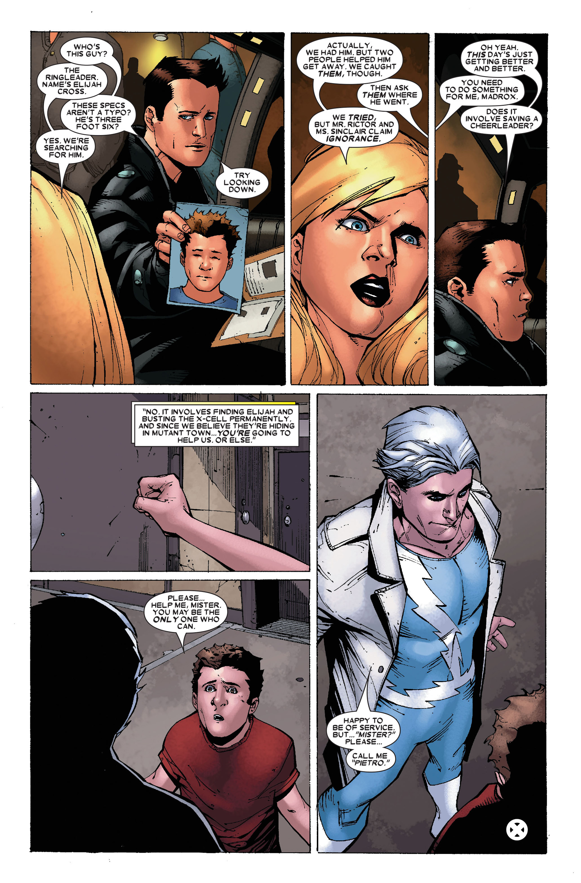Read online X-Factor (2006) comic -  Issue #17 - 24