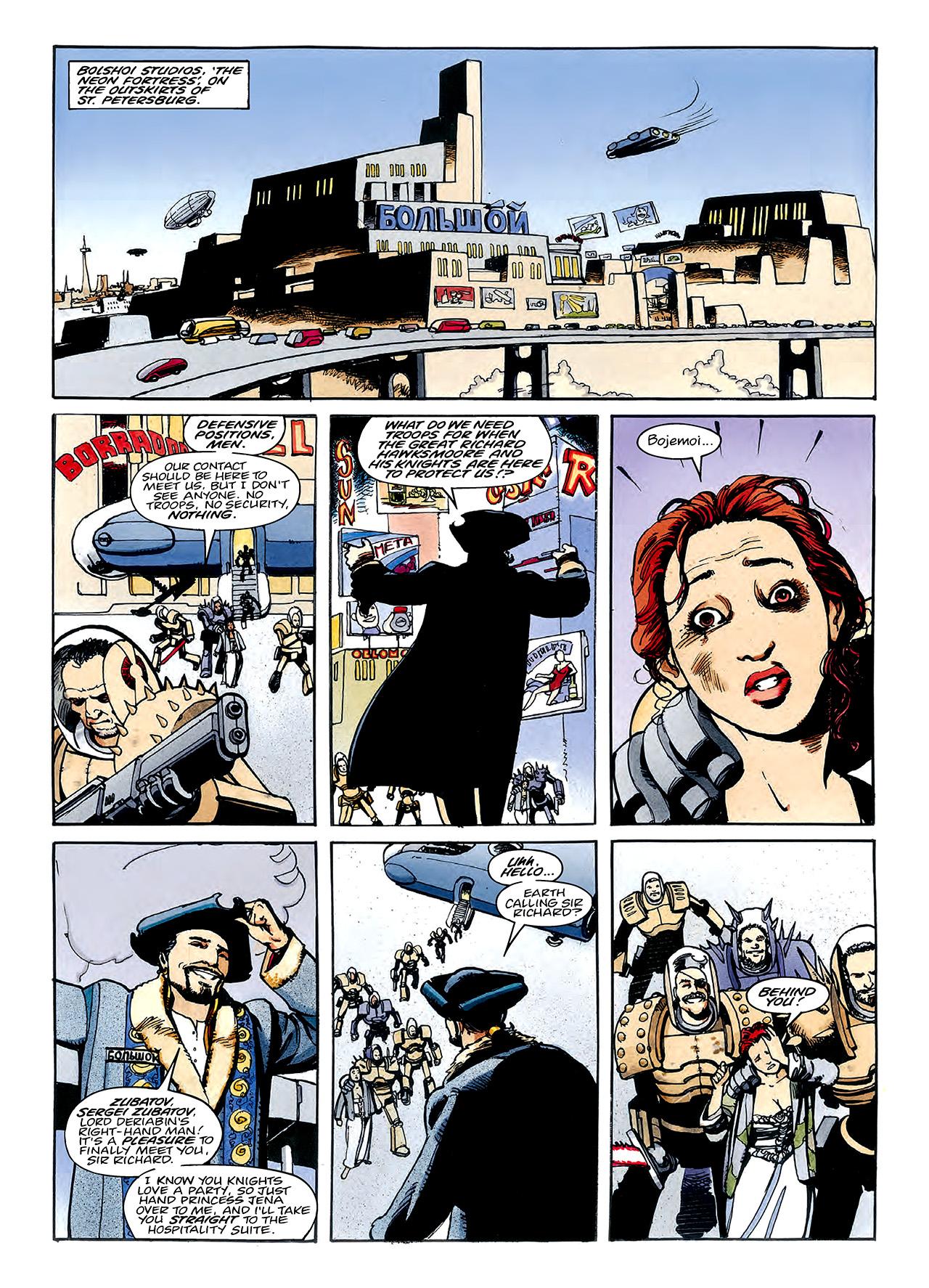 Read online Nikolai Dante comic -  Issue # TPB 3 - 103