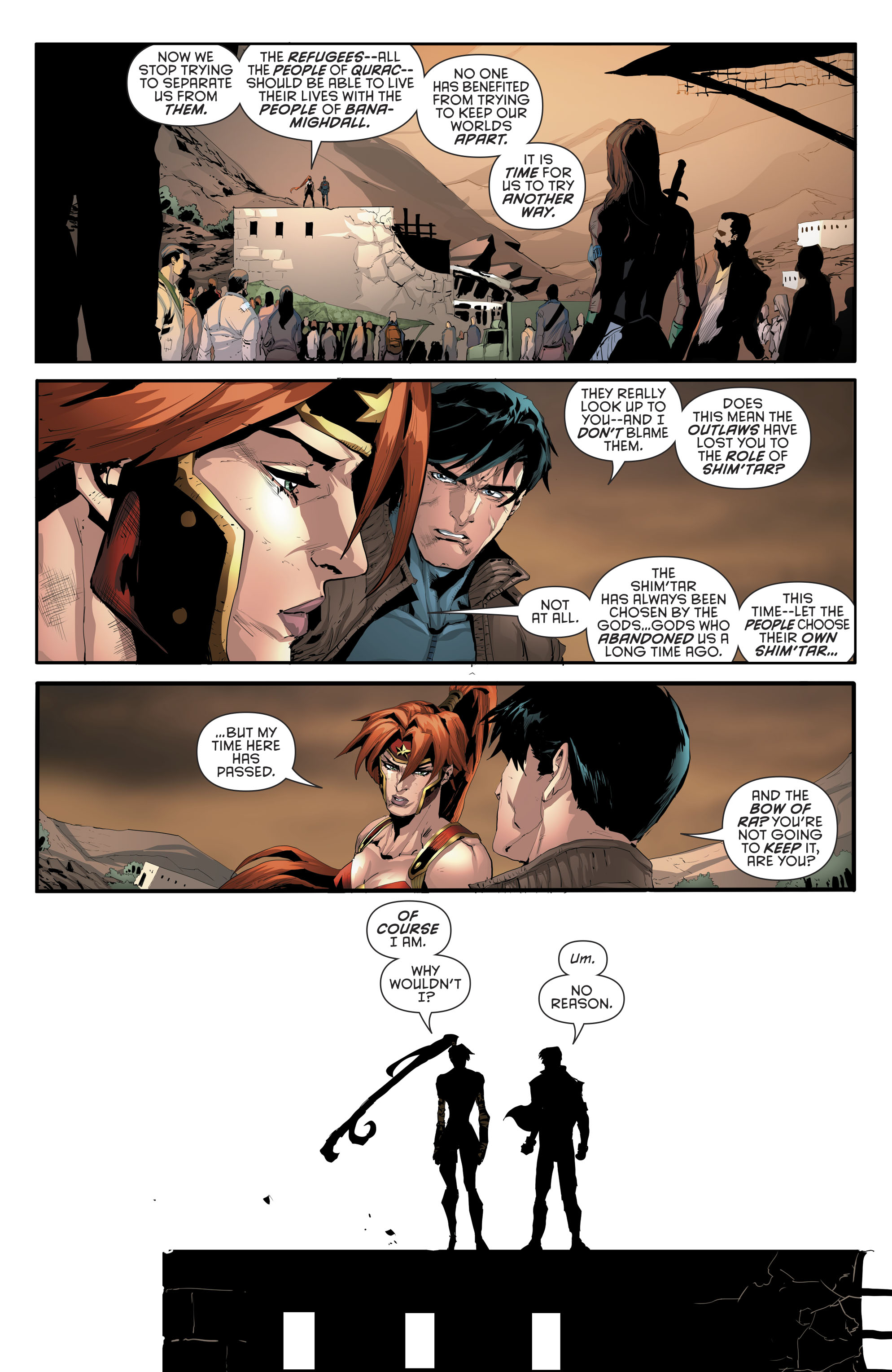 Read online Red Hood and the Outlaws (2016) comic -  Issue #11 - 21