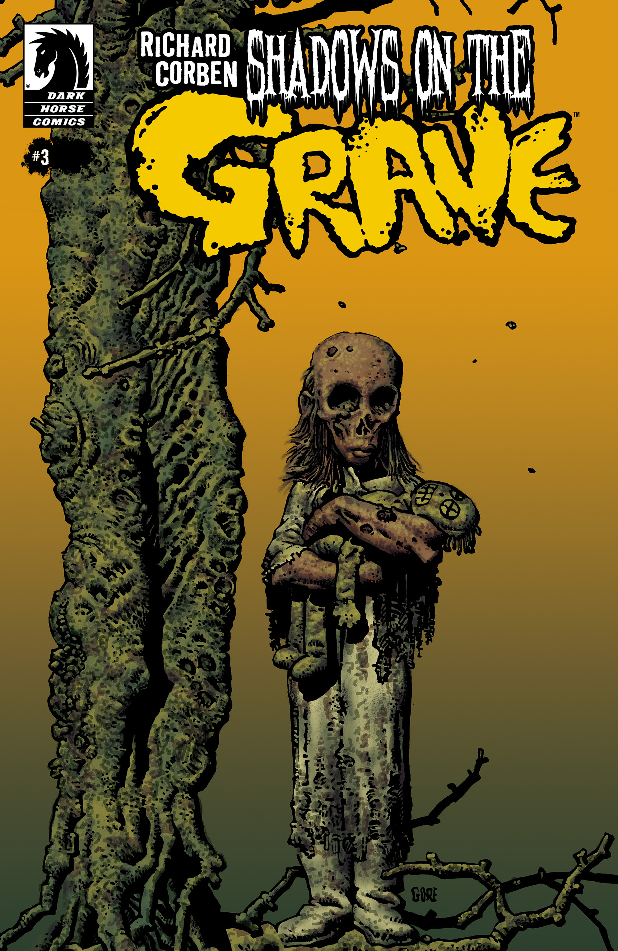 Read online Shadows on the Grave comic -  Issue #3 - 1