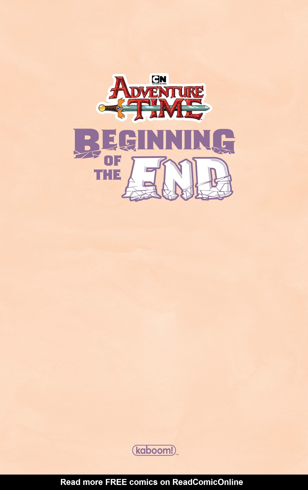 Read online Adventure Time: Beginning of the End comic -  Issue # _TPB - 3