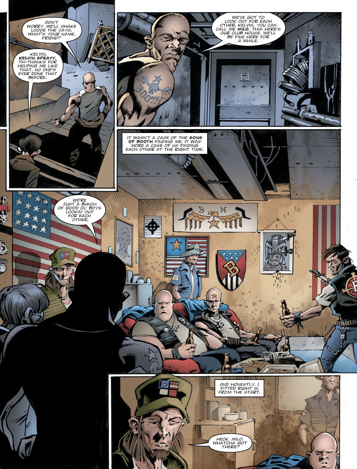 Read online 2000 AD comic -  Issue #2030 - 6