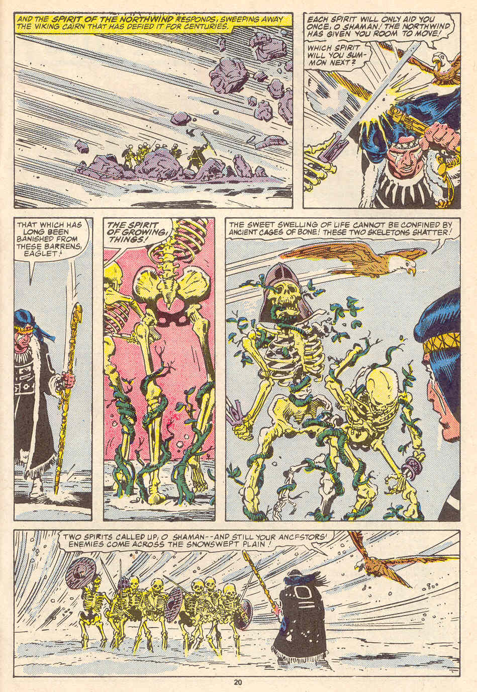 Read online Alpha Flight (1983) comic -  Issue #35 - 21