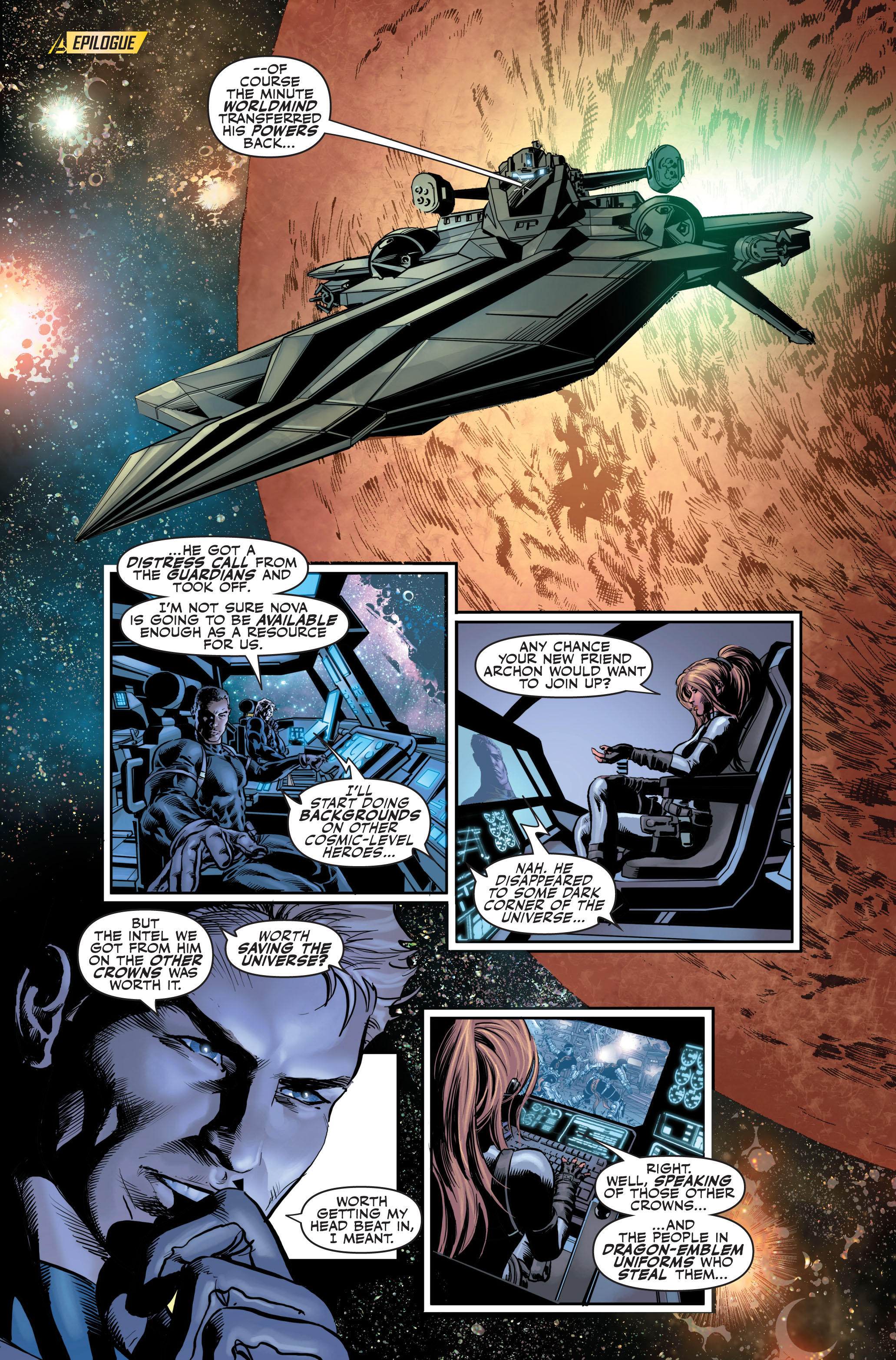 Read online Secret Avengers (2010) comic -  Issue #4 - 26