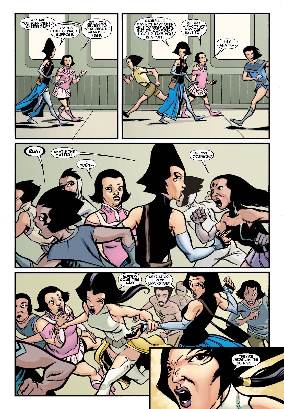 Read online War of Kings: Warriors - Lilandra comic -  Issue #1 - 9