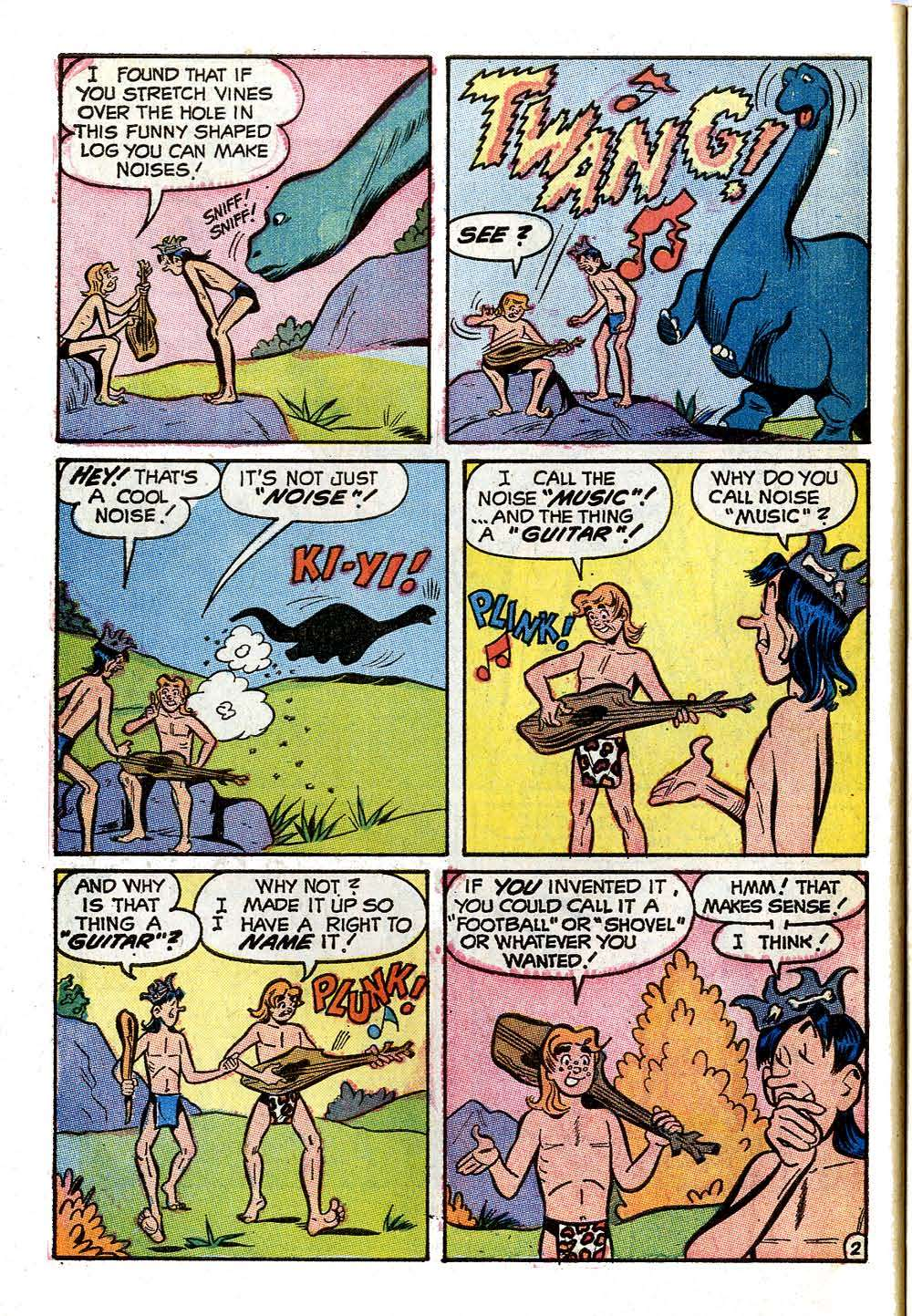 Read online Archie (1960) comic -  Issue #208 - 30