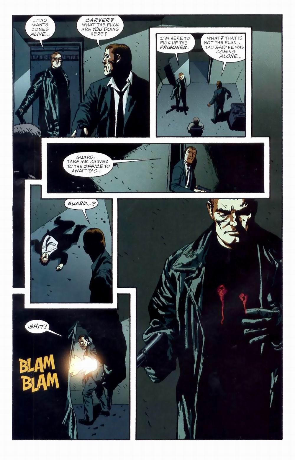 Read online Sleeper comic -  Issue #8 - 19