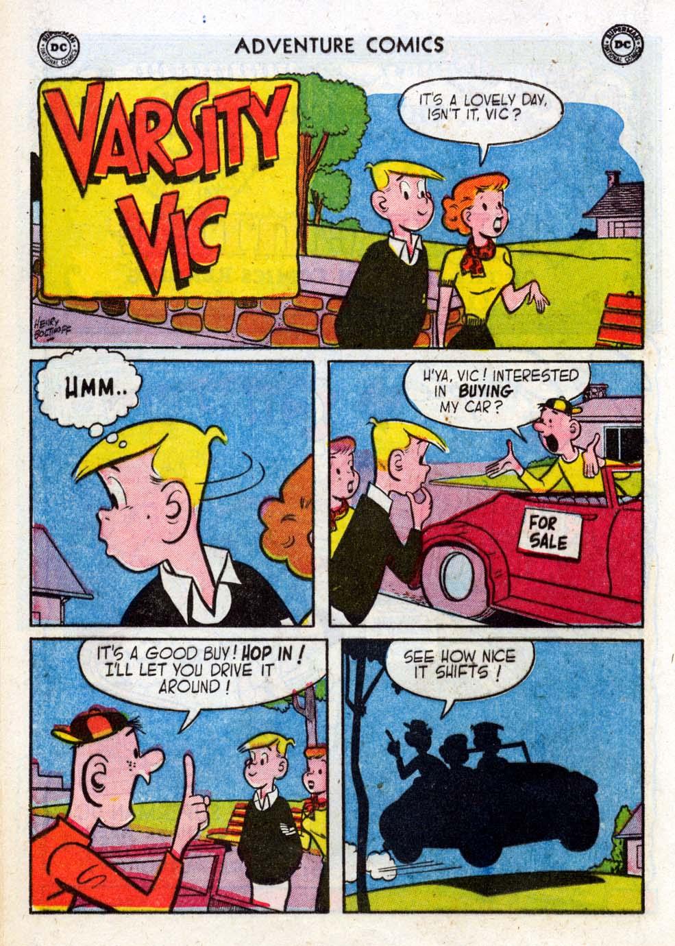 Read online Adventure Comics (1938) comic -  Issue #211 - 16