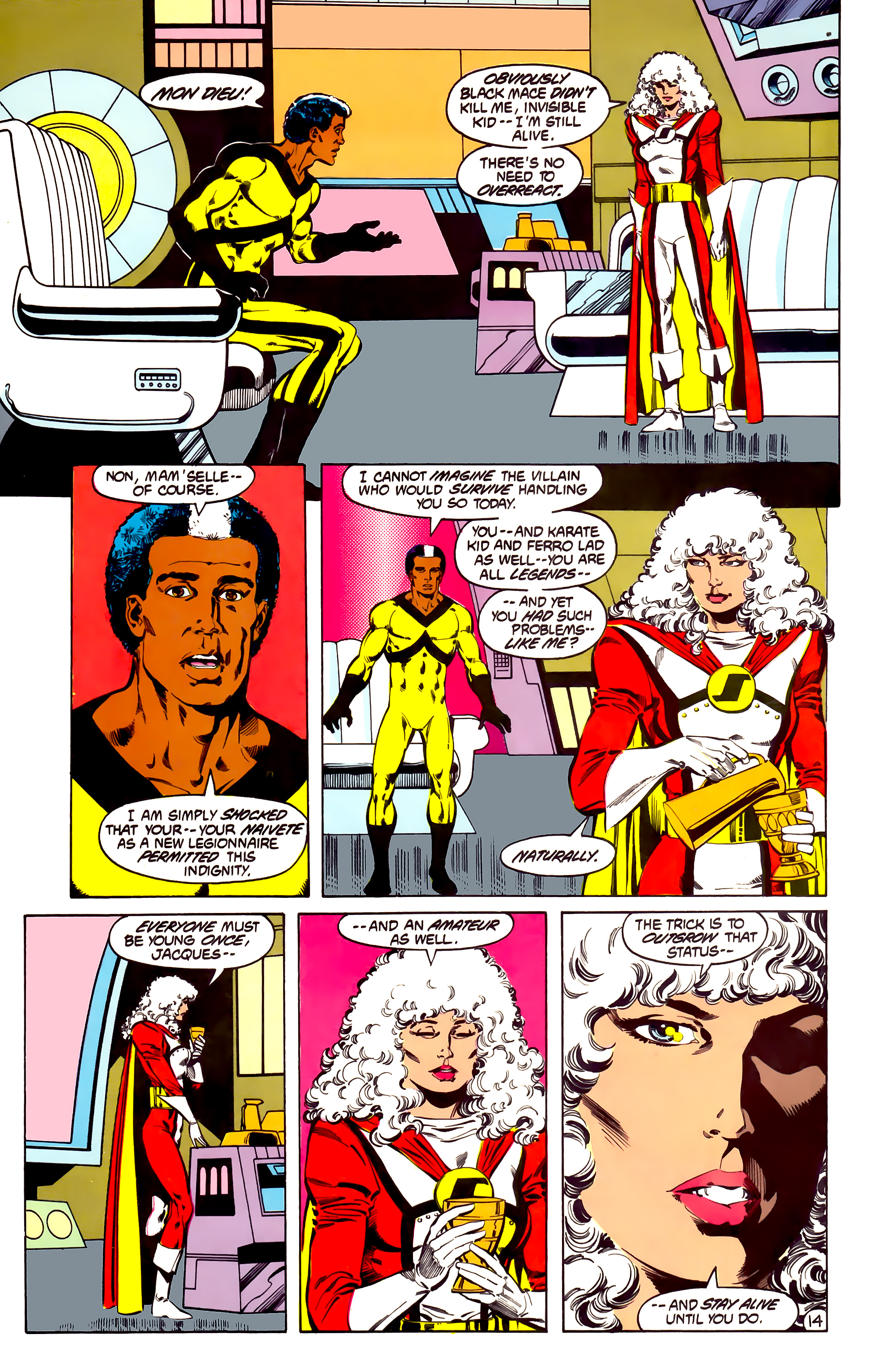 Legion of Super-Heroes (1984) 31 Page 14