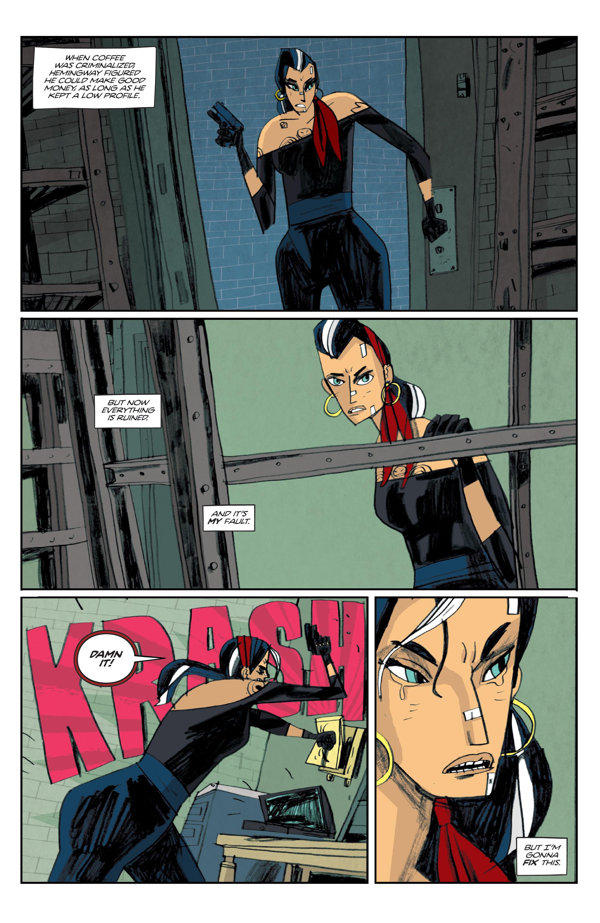 Read online Helena Crash comic -  Issue #4 - 5