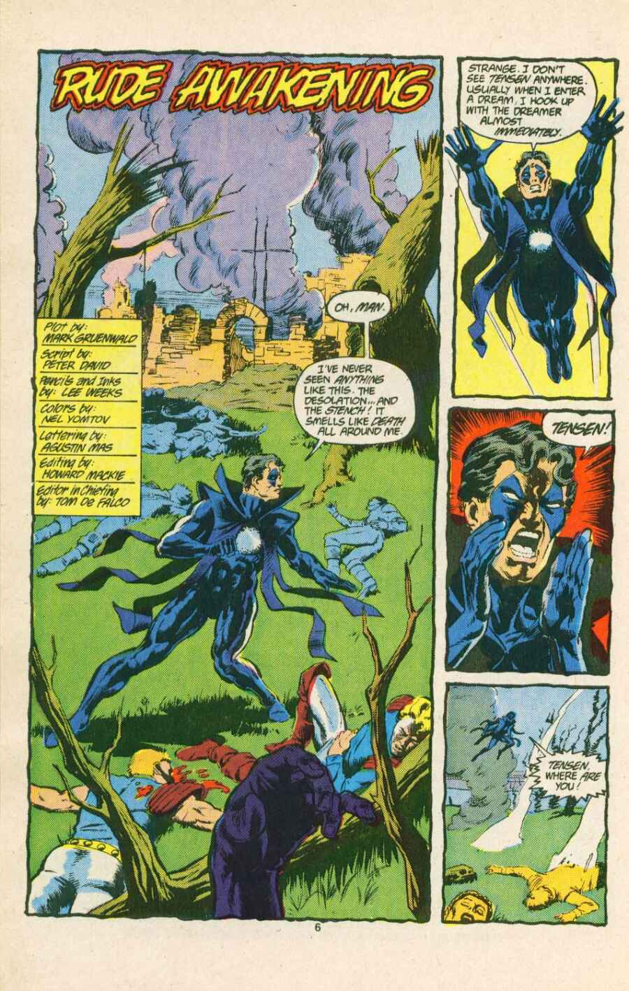 Read online Justice (1986) comic -  Issue #15 - 7