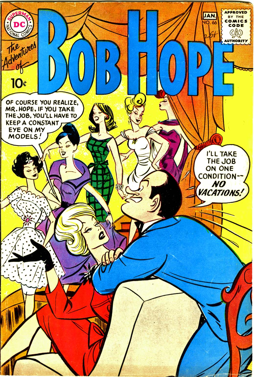 The Adventures of Bob Hope issue 66 - Page 1