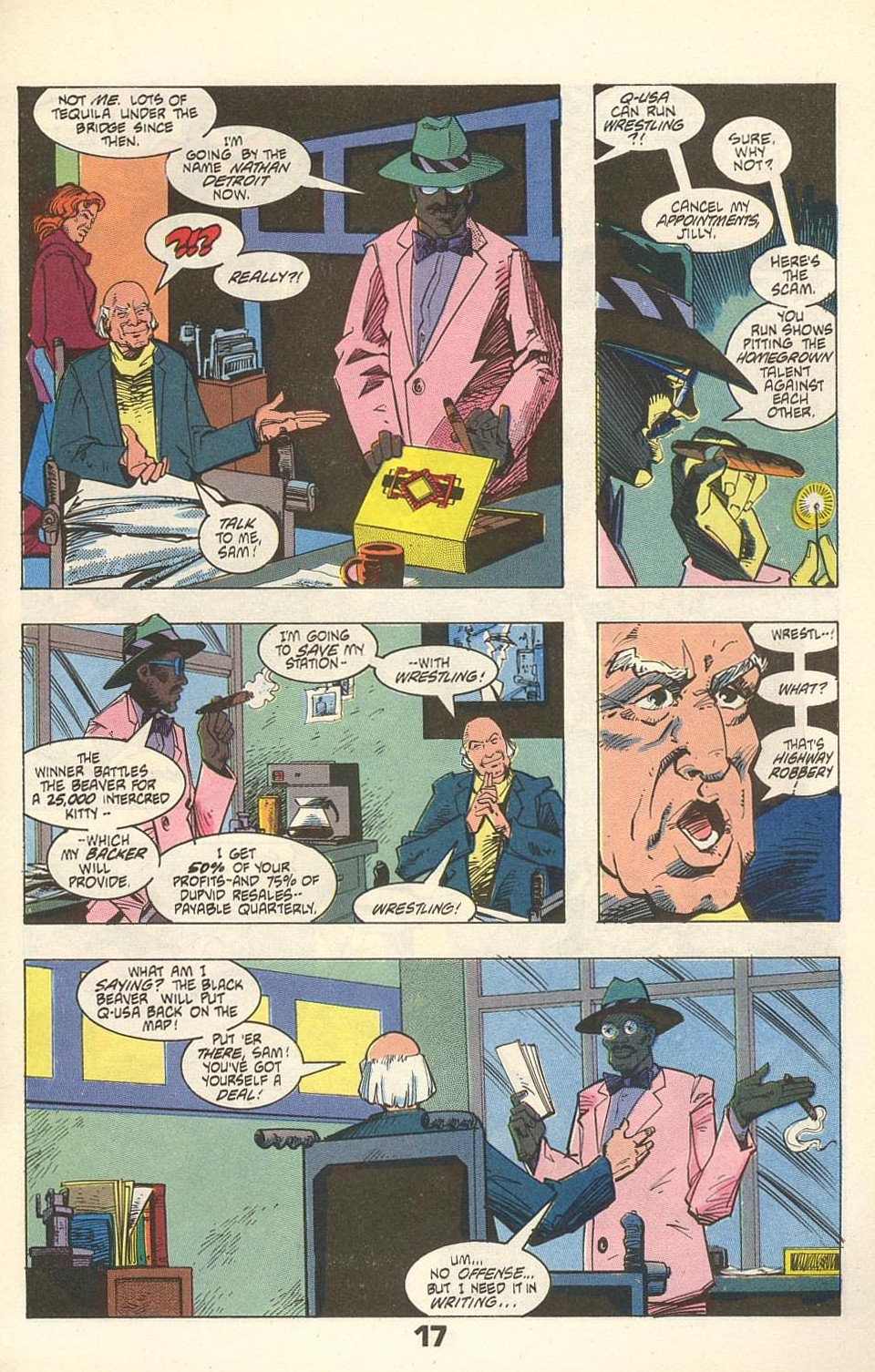 Read online American Flagg! comic -  Issue #31 - 21