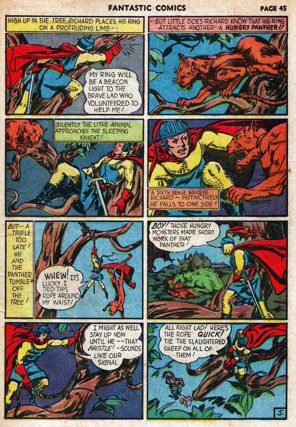 Read online Fantastic Comics comic -  Issue #18 - 47