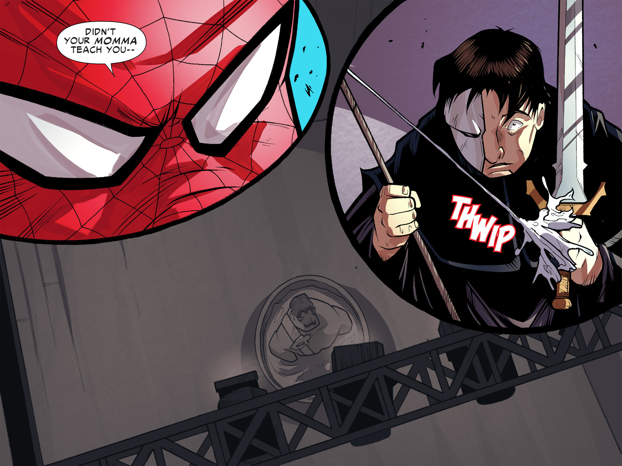 Read online Ultimate Spider-Man (Infinite Comics) (2016) comic -  Issue #9 - 8