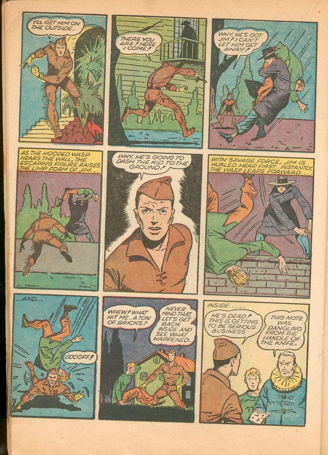 Read online Shadow Comics comic -  Issue #11 - 40