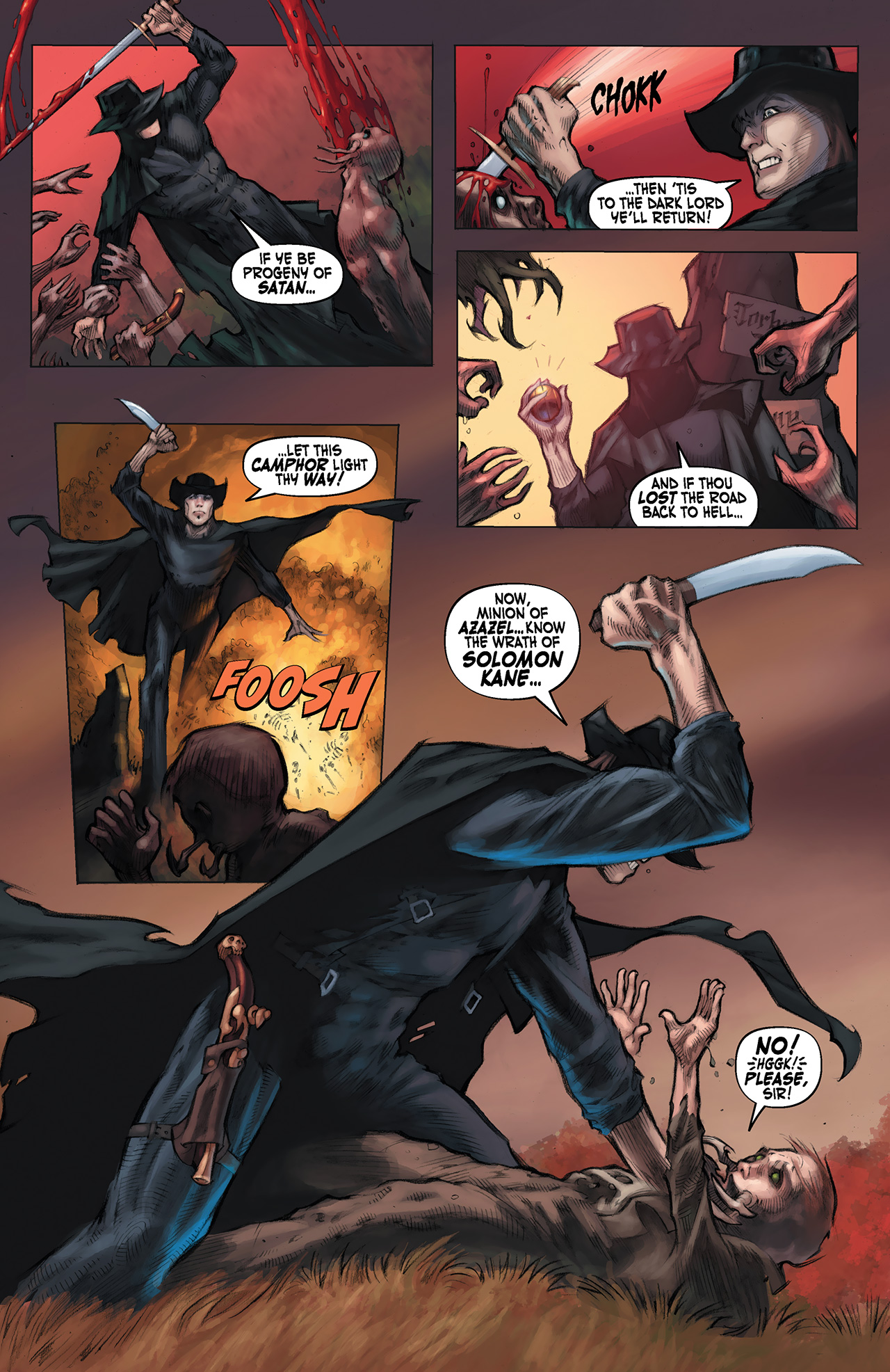 Read online Solomon Kane: Red Shadows comic -  Issue #1 - 5