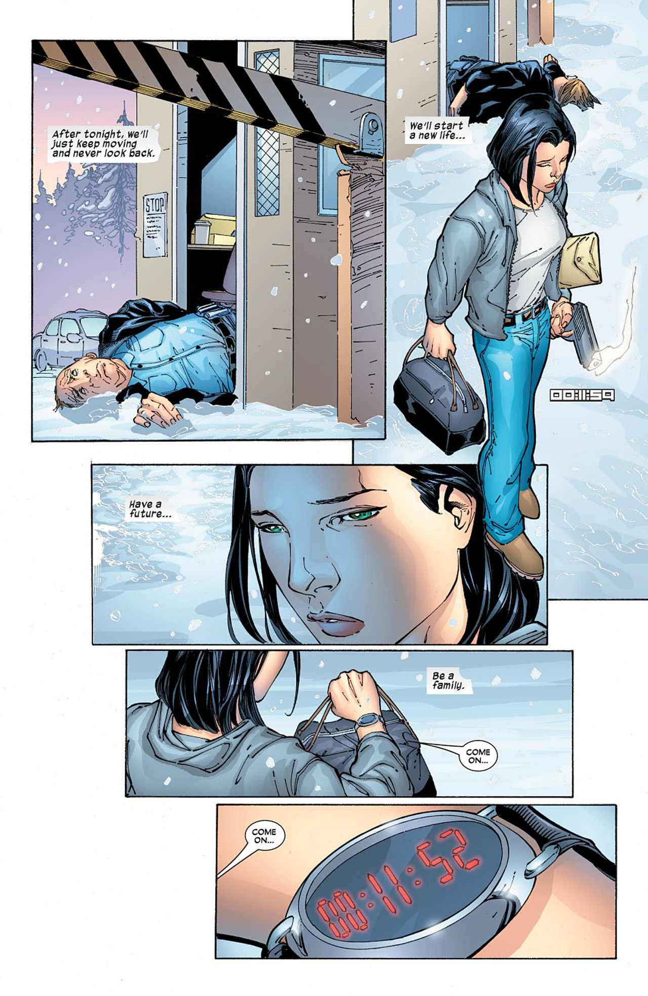 Read online X-23 (2005) comic -  Issue #6 - 11